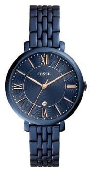 Fossil ES4094I Women Blue Analog Watches