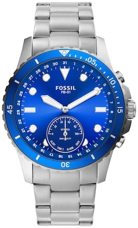Fossil FB-01 Silver Smartwatch FTW1198