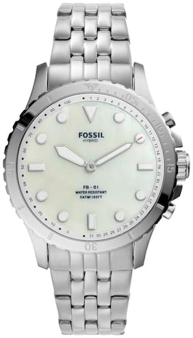 Fossil FB-01 Silver Smartwatch FTW5072