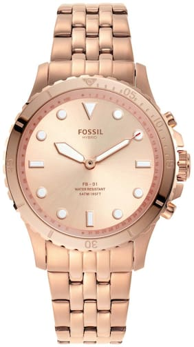 Fossil FB-01 Rose Gold Smartwatch FTW5070