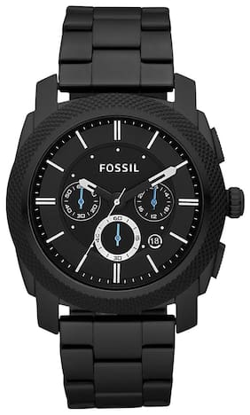 Fossil FS4552I Men Black Chronograph Watches