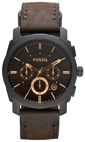 Fossil FS4656I Men Brown Chronograph Watches