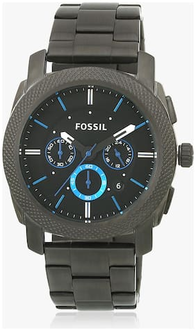 Fossil FS4931I Men Grey Analog Watches