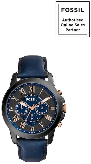 c70ca9516 Buy Fossil FS5061 Quartz Men Watch Online at Low Prices in India ...