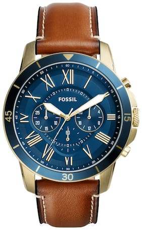Fossil FS5268I Men Brown Analog Watches