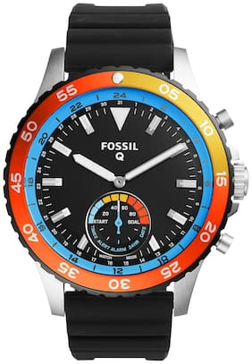 Fossil FTW1124 Men Black Analog Watches