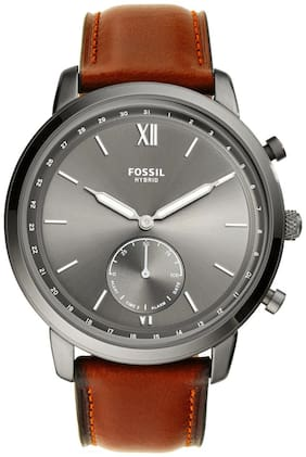 Fossil Neutra Hybrid Analog Grey Dial Men's Watch-FTW1194