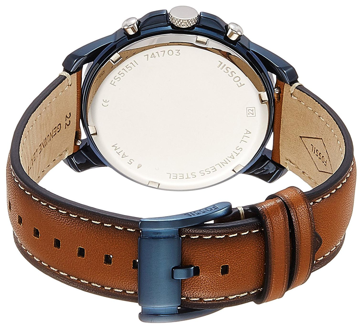 c5d5d12c13b8 Buy Fossil Grant Chronograph Brown Men s Watch - FS5151 Online at Low  Prices in India - Paytmmall.com
