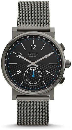 Fossil Hybrid Smartwatch - Barstow Smoke Stainless Steel
