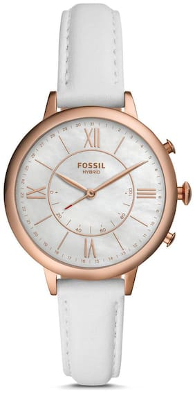 Fossil Hybrid Smartwatch - Jacqueline White Leather
