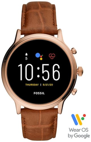 Fossil Julianna HR Brown Smartwatch FTW6063