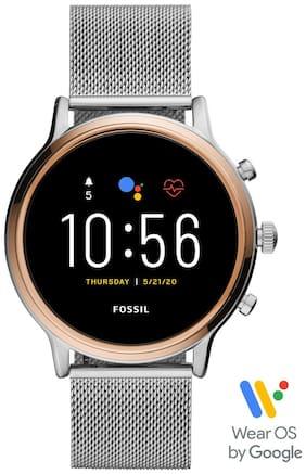 Fossil Julianna HR Silver Smartwatch FTW6061