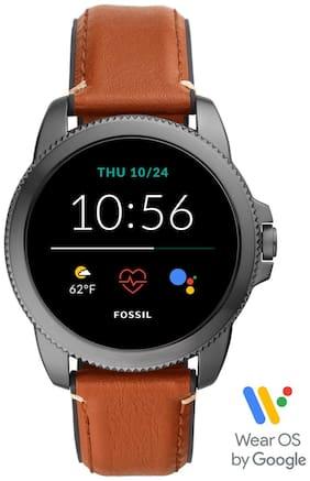 Men Brown Smart Watch