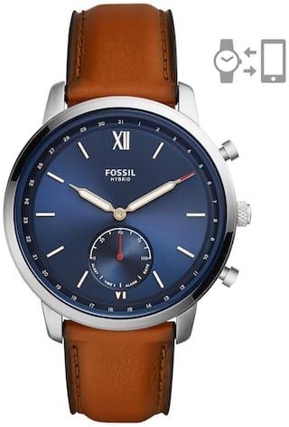Fossil Neutra Hybrid Analog Blue Dial Men's Watch-FTW1178