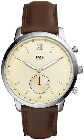Men Brown Hybrid Watch
