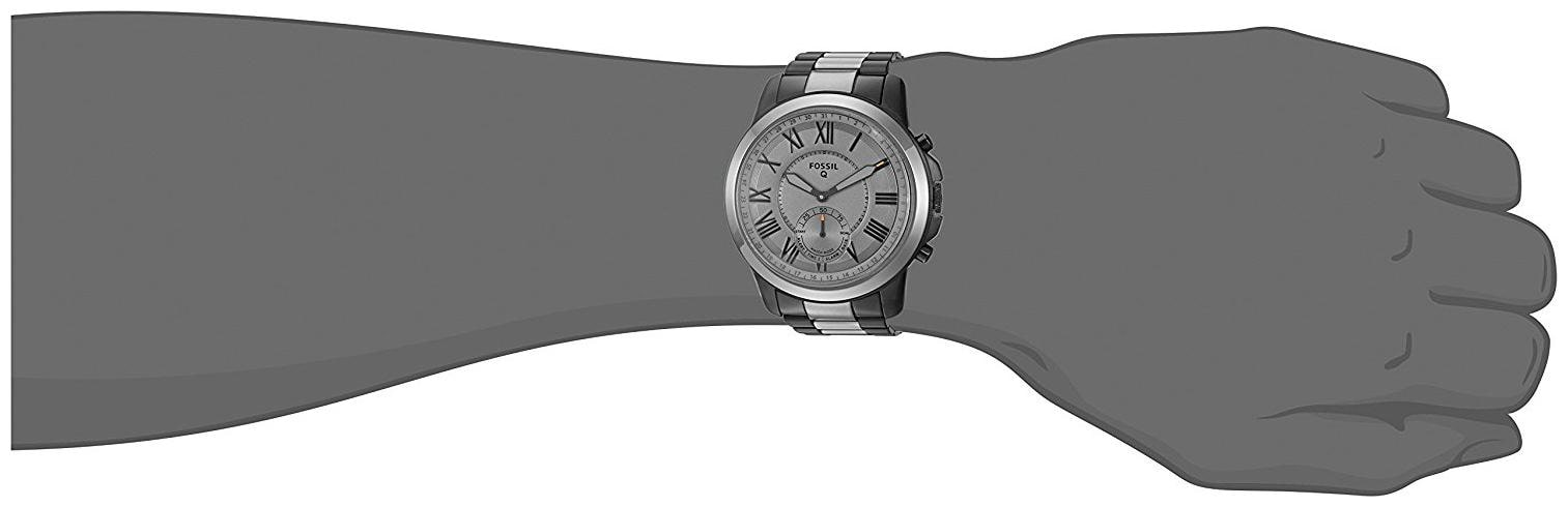 Buy Fossil Q Grant Stainless Steel Hybrid Smartwatch Ftw1139 Online