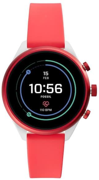 Fossil FTW6027 Women 41 mm Red Smart Watch