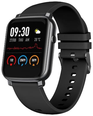 French Connection F1-B Unisex 34 mm Black Smart Watch