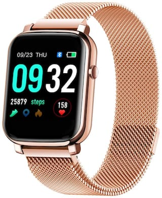 French Connection F1-D Unisex 34 mm Rose Gold Smart Watch