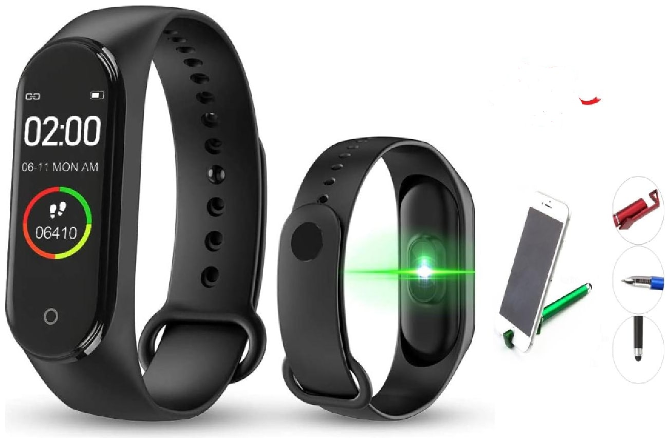 G Gapfill M4 Plus Fitness Tracker Heart Rate Monitoring Band Designed For...