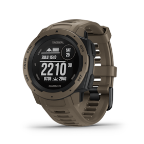 Garmin Instinct Tactical Coyote Smart Watch For Unisex