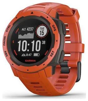 Men Red Smart Watch