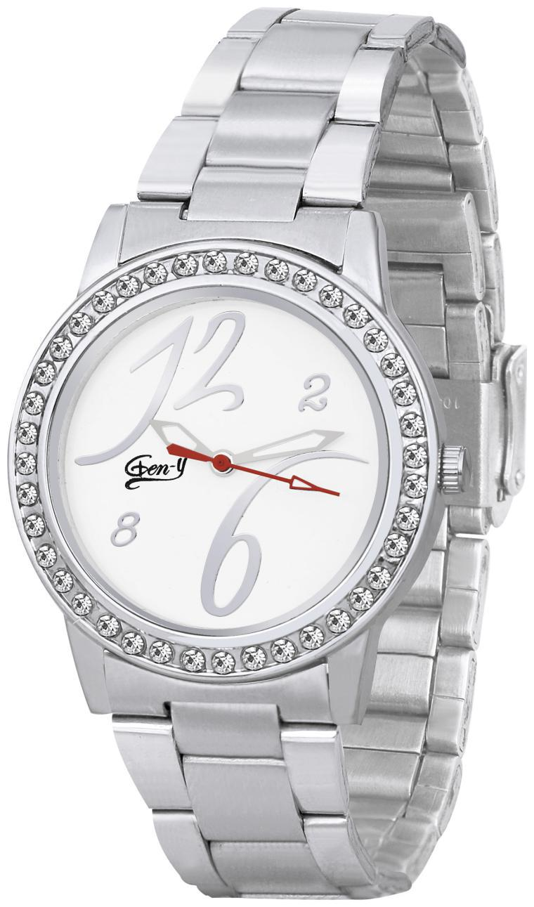 Gen Y GY 024 Silver Analog Watch   For Women by Watches Mart