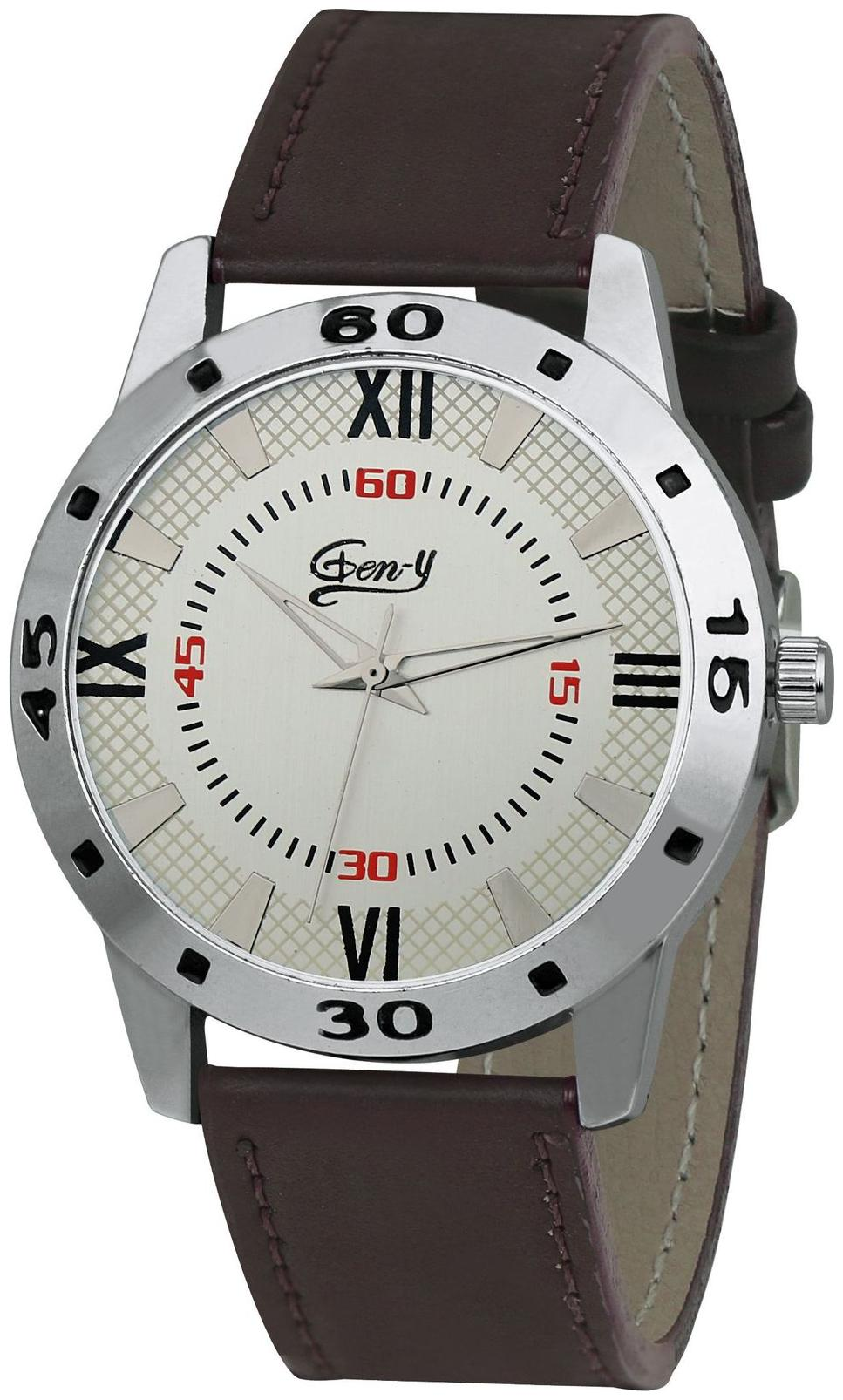 Gen Y GY 026 Analog Brown Watch   For Boys and Men by Watches Mart
