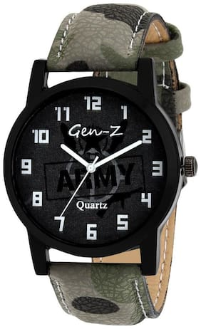 GEN-Z Heavy Dial Army Analog Watch