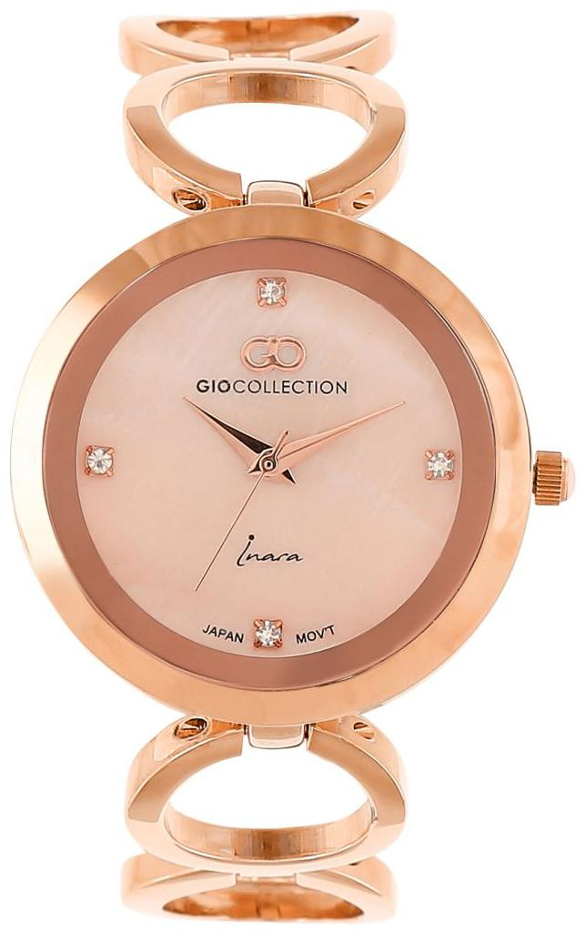 Gio Collection G2134 33 Women Rose Gold Analog Watch by Brandz Storm Lz