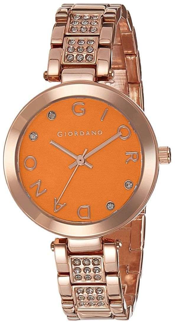 Giordano A2040 44 Women Orange Analog Watch by Brandz Storm Lz