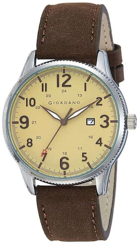 Giordano Analog Gold Dial Men's Watch