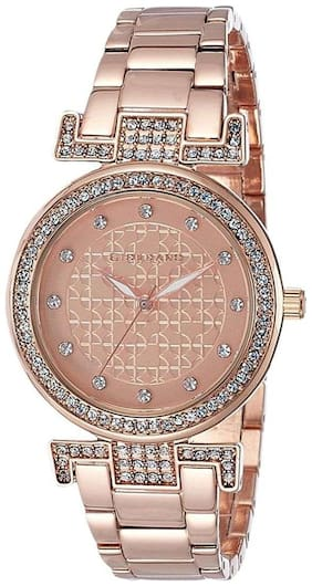 Giordano Analog Rose Gold Dial Women's Watch-A2057-44
