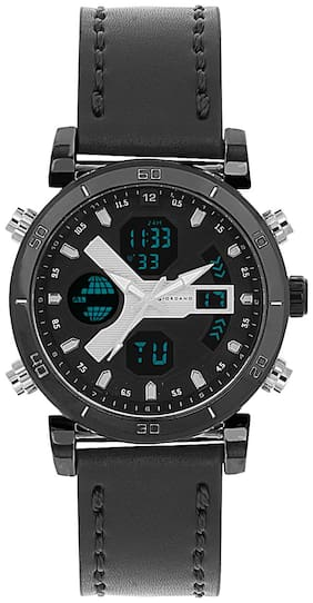 Giordano Analog-Digital Black Dial Men's Watch