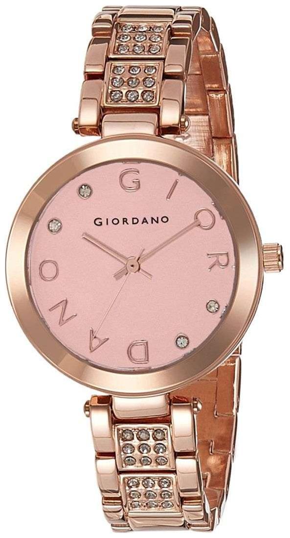 Giordano Analog Rose Gold Dial Women's Watch   A2040 22 by Brandz Storm Lz