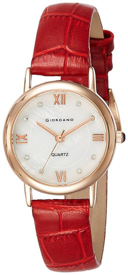 Giordano Analog White Dial Women's Watch 2807 02 by Brandz Storm Lz