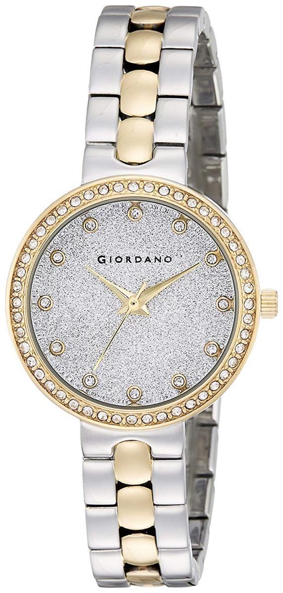 Giordano A2068 55 Women Silver Analog Watch by Brandz Storm Lz