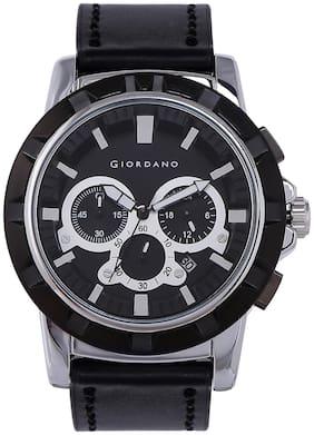 Giordano Chronograph Black Dial Men's Watch