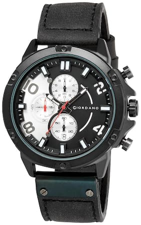 Giordano Chronograph Black Dial Men's Watch