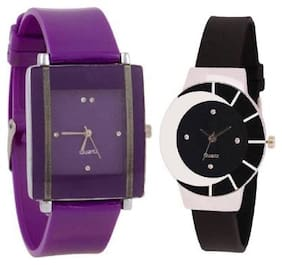 GIRL COMBO WATCH WITH FANCY DESIGNER LOOK LATEST COLLECTION07 Watch - For Girls