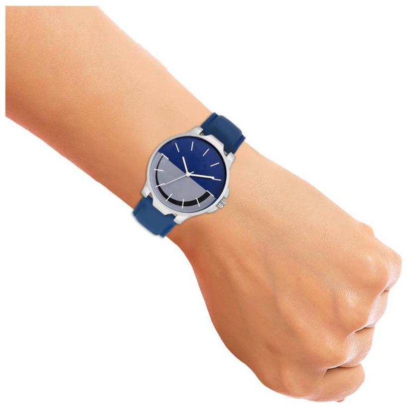 GLAMEXY  New Collection New Look Leather Analog Men's Watch