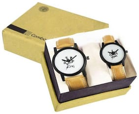 Glamexy new king & queen model couple watch
