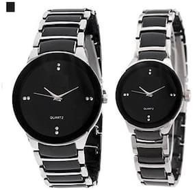 Gopal Shopcart IIK_Sliver_Couple_GR Analog Watch - For Couple
