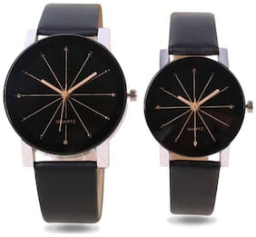 Gopal Shopcart PRIZAM Glass Couple Watches Combo For Boys And Girls Watch - For Men & Women