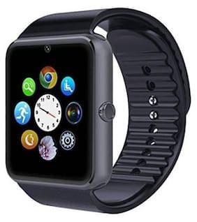GT-08 wrist phone watch with call and bluetooth function inclueding memory card slot (black)