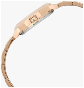 Guess Chelsea Rose Gold Dial Analog Women's Watch -W0989L3