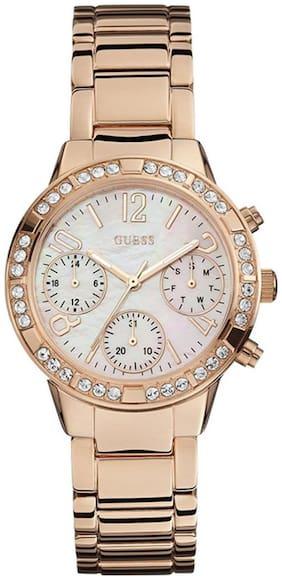 Guess Chronograph White Dial Women's Watch - W0546L3