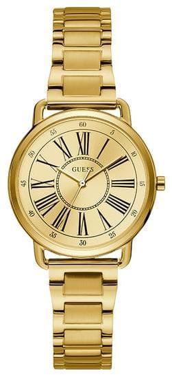 Guess Ladies Champagne Dial Watch-W1148L2