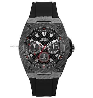 Guess Legacy Black Dial Analog Men's Watch - W1048G2
