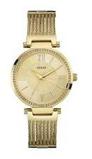 Guess SOHO W0638L2 Analog Gold Tone Round LADIES DRESS Collection